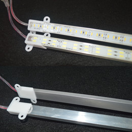 Strip bar online shopping - Waterproof SMD cm cm LED Hard Rigid Strip Cabinet Bar Light Pure White Warm White With Cover DC12V