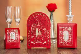 China Wholesale-Wholesale CW5122 CW5125 Luxurious Laser Cut Wedding Invitation Card DHL Fedex Free Shipping cheap luxurious wedding invitation cards suppliers