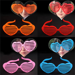 $enCountryForm.capitalKeyWord Canada - PVC Heart Shutters Funny Party Glasses Children Adult Party Celebration Big Glasses Masquerade Supplies Glasses OPP Bag Package