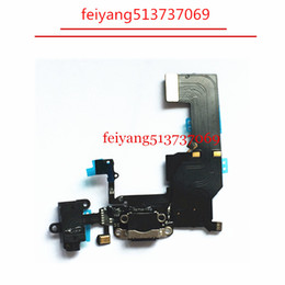 China 1pcs NEW Charger Charging Port USB Dock Connector Headphone Audio Jack Flex Cable For iPhone 5c suppliers