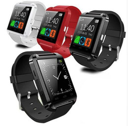 smart watch samsung NZ - U8 Bluetooth Smart Watch U Watches Touch Wrist WristWatch Smartwatch for iPhone 4 4S 5 5S Samsung S4 S5 Note 3 HTC Android Phone Smartphones