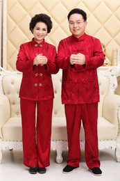 Discount martial arts uniforms - Shanghai Story Long Sleeve Chinese Traditional Clohting Chinese kung fu Tai Chi Uniforms For Couple Artes Marciais 6 Sty