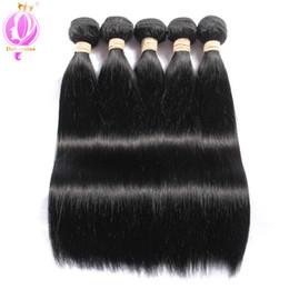 $enCountryForm.capitalKeyWord Australia - Top quality Brazilian Straight Hair 5 Bundles 100% Unprocessed Brazilian Virgin Human Hair 8-30 inch free shipping