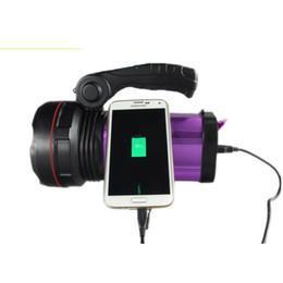 $enCountryForm.capitalKeyWord UK - Rechargeable LED Spotlight LED Handle Searchlight XML T6 3 Modes Flashlight Handheld Searchlight+Charger Portable Torch Camping Light NEW