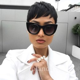 $enCountryForm.capitalKeyWord Australia - 2017 Cheap Lace Front Wigs Straight Human Hair Wigs Pixie Cut none Lace guleless full lace human short Hair wigs for Black Women