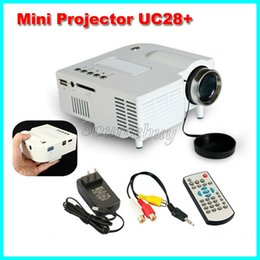 Pico Pocket online shopping - New UC28 UC28 portable pico led mini HDMI AV video game projector digital pocket home cinema projetor proyector for quot cinema Free DHL