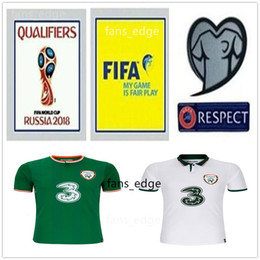 6f2cfb601ea 2018 Ireland World Cup Jersey KEANE Daryl Blank Custom Home Away Green  White Republic of Ireland National Team Soccer Football Shirts