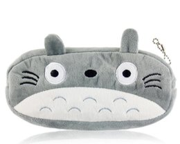 totoro cosmetic bag NZ - Kawaii 20CM TOTORO Kids Coin BAG Case GIFT BAG Lady Girl's Cosmetics Purse B AG & Wallet Coin Holder Pouch BAG