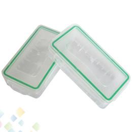 18650 батарейный отсек водонепроницаемый чехол пластиковый защитный хранения прозрачный держатель батареи ящик для хранения для 18650 и 16340 батареи DHL бесплатно на Распродаже