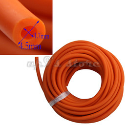 slingshot rubber replacement Australia - Length 10M Rubber Latex Tube 1.7 mm ID ELASTICA Bungee Slingshot Catapult Outdoor Hunting Rubber Tubing Replacement 1745