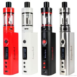 Kanger Tank Starter Kits Australia - 1PC Kanger Topbox Mini 75W Starter Kit with Top Refilling 4ml Toptank Mini Tank 75W TC Box Mod E Cigarette Kangertech Vape Vaporizer Mod Kit