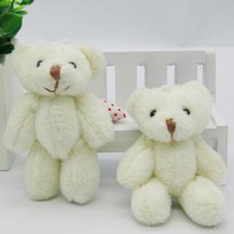 Ted sTuffed bear online shopping - 50pcs Kawaii Small Joint Teddy Bears Stuffed Plush8CM Toy Teddy Bear Mini Bear Ted Bears Plush Toys Wedding Gifts