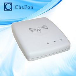 China Wholesale- rfid uhf desktop reader writer with RS232 interface read range up to 0~10cm with free sdk and sample cards free dhl shipping supplier rfid reader rs232 suppliers