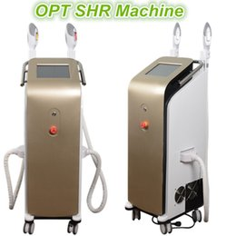 Barato Venda Pele Clara-opt shr machine boa qualidade ipl handle piece laser hair removal machine sales e light treatments FACIALES rejuvenescimento da pele
