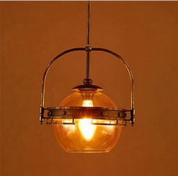 Discount amber led light bar 2018 amber white led light bar on 2018 amber led light bar loft style vintage amber edison glass pendant lightsretro iron mozeypictures Gallery