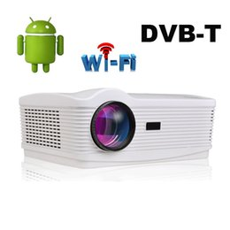 $enCountryForm.capitalKeyWord NZ - Wholesale-NEW Uhappy ATCO Android 4.4 1080P HD Projector HDMI USB SD DTV AV VGA Digital Projector Home Theater 5500Lumens LCD Projector