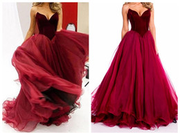 $enCountryForm.capitalKeyWord Canada - V Neck Evening Dresses2017 New Sexy Low-Cut Strapless Quinceanera Dress Long Skirt flouncing VE is illusion V necklace Prom Gowns Plus Size