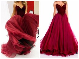 V Bague Coupe Basse Pas Cher-V Neck Evening Dresses2017 Nouveau Sexy Low-Cut bretelles Quinceanera Robe longue jupe flouncing VE est illusion V collier Prom Gowns Plus Size
