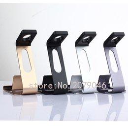 Großhandels- 2016 neuer Multifunktionsstand-Halter-Aluminiumgriff für ipad Mini 2/3/4/5 iphone 6 plus Apple-Uhr 42mm 38mm