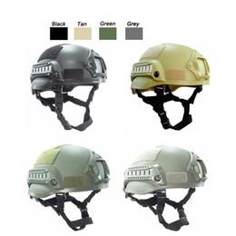 Fighting Australia - Outdoor Fighting Equipment Airsoft Paintabll Shooting Helmet Head Protection Gear Tactical Fast Helmet Upgraded Mich 2002 Helmet