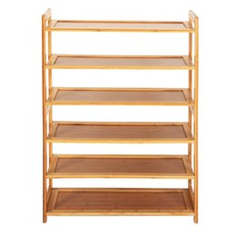 Chinese New Durable Bamboo Shelf Tier 6 Wood Home Furniture Entryway Storage Rack Shoe Manufacturers 4 Photos Find Similar