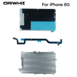 Chinese  New Arrival High Quality Metal Back Plate Motherboard Flex for iPhone 6 6G 4.7inch LCD Replacement Display manufacturers