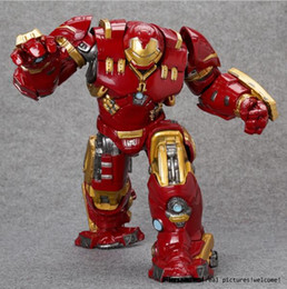 "hulkbuster toys Canada - Crazy Toys Avengers Age of Ultron Hulkbuster Mark 44 PVC Action Figure Collectible Model Toy 10"" 26cm"