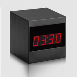 Camera Desk Clocks NZ - 1080P HD Desk Alarm Clock Mini DV Camera DVR Video Recorder With Infrared Night Vision For Home Security Remote Control