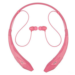 lg tone infinim bluetooth headset UK - Bluetooth Headsets HBS 902 Tone+ Infinim Neckbands Wireless Stereo Earphones Bluetooth 4.0 Sport Headphone for HBS902 HBS-902 Headsets
