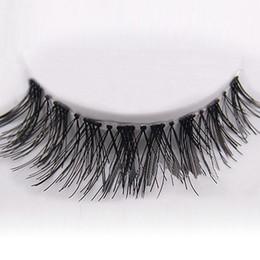 Wholesale New Pairs Black Natural Cross Fake False Eyelash Soft Long Makeup Eye Lash Extension