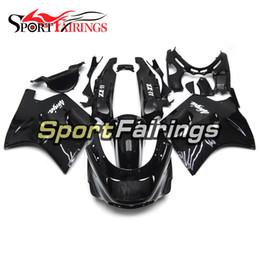 Kawasaki Fairing Kits Zx11 UK - Full Fairings For Kawasaki ZX11 ZZR1100D 93 94 95 96 97 98 99 00 01 02 03 1993 - 2003 ABS Injection Motorcycle Fairing Kit Cowling Black NEW