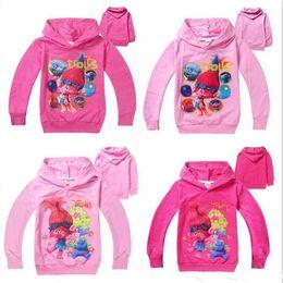 $enCountryForm.capitalKeyWord Canada - Newly 4Styles Trolls Kids Cartoon Hoodies Poppy Branch Spring Autumn Hoodied Tshirts Girls Long Sleeve Sweatshirts Free DHL L001