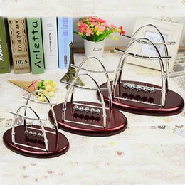 ShoeS africa online shopping - Sail Swing The Ball Home Furnishing Decoration Ellipse Newton Touch Balls Creative Arts And Crafts Hot Sale jl J
