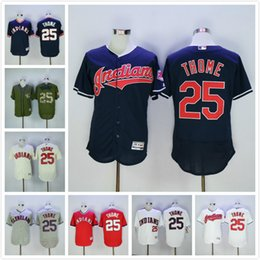 ... closeout jim thome jersey 25 cleveland indians flexbase coolbase  throwback 1993 baseball jerseys white blue black 76610dfef