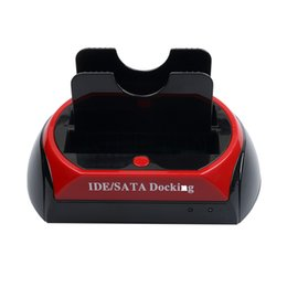Hdd station sata online shopping - Hot Newest HDD Docking Station HDD Docking Dual quot quot IDE SATA HDD dock Docking station SD HUB