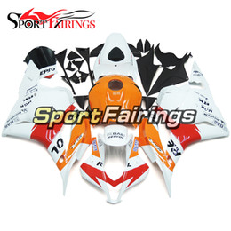 $enCountryForm.capitalKeyWord Canada - Injection ABS Plastic Motorcycle Injection Full Fairing Kit For Honda CBR600RR F5 Year 2009 2010 2011 2012 Orange Red White Bodywork Cowling