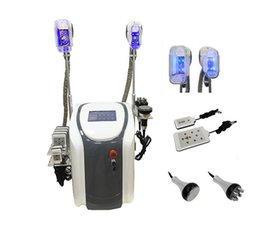 Lipothérapie Pas Cher-Professional Cryo Lipolysis Slimming Machine Cool Body Sculpting Cryotherapy Ultrason Cavitation RF Liposuction 650nm Lipolaser Machine
