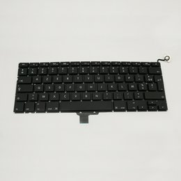 Подлинная FR Французская клавиатура для Macbook Pro 13 '' A1278 French FR Франция Замена клавиатуры Высокое качество