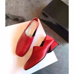 Collections Shoes Canada - JY02 Sexy Red Fashion Collection Easy Street Prim Pump Sheepskin Genuine Leather High Heel Dress Lady Women Shoes Sz 35-39