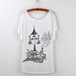 Discount Ladies Loose T Shirt Designs   2017 Ladies Loose T Shirt ...