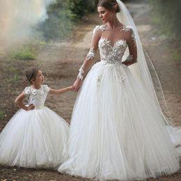 Line Wedding Dress Flower Applique Bodice Online Line Wedding
