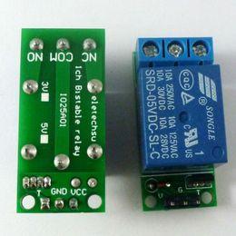 $enCountryForm.capitalKeyWord Canada - mini 5V Flip-Flop Latch Relay Module Bistable Self-locking Switch Low pulse trigger Board for Arduino Smart home LED Motor