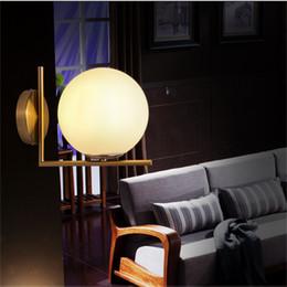 New Arrivals Modern LED Glass Globe Wall Light Restautant Bedroom Living  Room Stainless Steel Round Wall Lamps AC85 265V Light Fixture Part 60