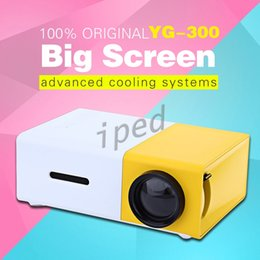 Audio Business NZ - YG300 LED Portable Projector 400-600LM 3.5mm Audio 320 x 240 Pixels With HDMI USB AV SD Input Mini Projector Home Media Player Free shipping