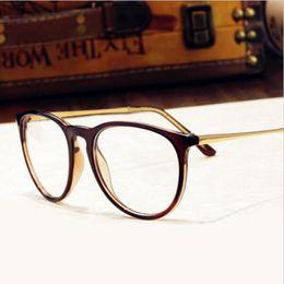 840140ced8 Wholesale- Brand Design Grade Eyewear Frames eyeglasses eye glasses frames  for women Men Male Eyeglass Plain optical Glass spectacle frame