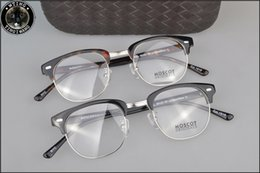 94f2730e3ad Discount johnny depp eyeglasses brand - 2016 New arrived retro vintage  brand Moscot YUKEL johnny depp