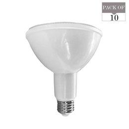 Опт 10-Pack E26 PAR38 светодиодные лампы Затемняемый 15W 2700K 3000K 5000K мягкий / теплый / натуральный белый AC120V 1100LUMENS равна 100W лампы накаливания