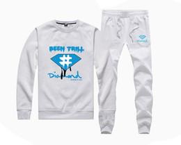 $enCountryForm.capitalKeyWord Canada - Diamond Supply Spring Thin 2pcs Men's Jacket+Pants Baseball Uniform Fashion Tracksuits Men Sports Suits Clothing Set Hoodies