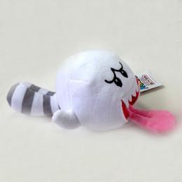 Großhandel Super Mario Bros 20 CM Boo Ghost Weiche Plüsch Puppe kran Spielzeug Kuscheltier Spielzeug geld