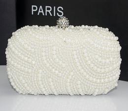 $enCountryForm.capitalKeyWord Canada - white pearls evening bags pink black beaded clutch bag wedding bridal clutches party dinner purse chains handbag